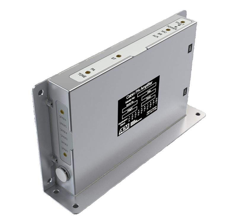 LSA100 Kabin PA Amplifikatörü